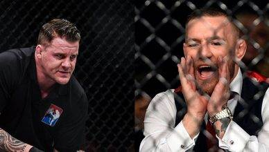Referee Marc Goddard breaks his silence on having to reprimand UFC lightweight champion Conor McGregor at UFC Fight Night 118 in Poland.
