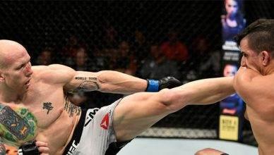 Fast rising UFC lightweight contender Josh Emmett