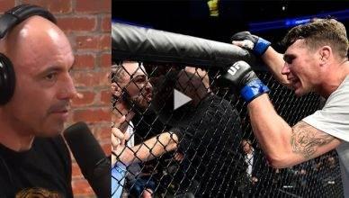 "UFC commentator Joe Rogan thinks fast rising UFC welterweight contender Darren Till will put a beating on ""Platinum"" Mike Perry."