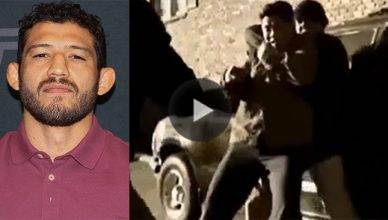 UFC star and former Strikeforce world champion Gilbert Melendez released his crazy fight scene cast alongside a few other notable MMA fighters.