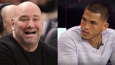 Dana White and Anthony Pettis.