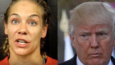 Female mixed martial arts pioneer Julie Kedzie just went off on President Donald Trump on her social media.