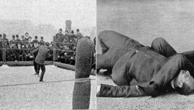 Take a look at these rare shots from a jiu jitsu match from 112 years ago.