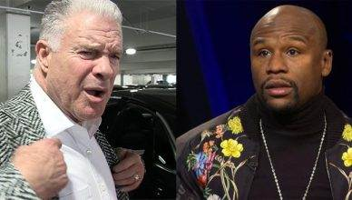Boxing's Jim Lampley says Floyd Mayweather scammed everyone and simply let Conor McGregor do a few things during their boxing match.