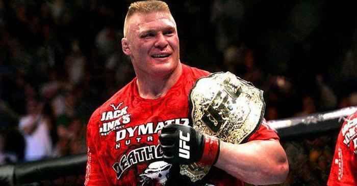 Former UFC heavyweight champion, Brock Lesnar.