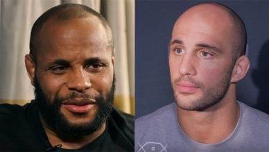 UFC light heavyweight champion Daniel Cormier responds to Oezdemir's prediction.