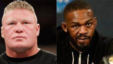 WWE Universal Champion Brock Lesnar ready to fight Jon Jones.