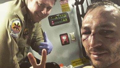 UFC lightweights Lando Vannata and Bobby Green went to war for 3 rounds at UFC 216, and the aftermath has Vannata paying the hospital a visit.