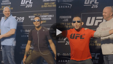 A video of every single time UFC lightweight Tony Ferguson has scared the hell out of UFC President Dana White.