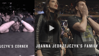 Former UFC Strawweight champ Joanna Jedrzejczyk just had her corner cam footage from UFC 217 released showing her emotionally charged family at cage side.
