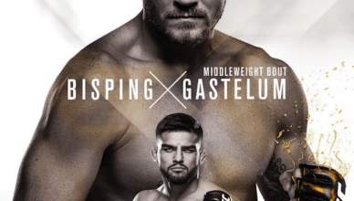 With Anderson Silva is officially out of the UFC Fight Night 120 main event, UFC has released an updated poster with Michael Bisping and Kelvin Gastelum.