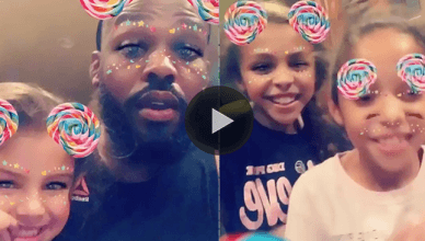 Former UFC champion Jon Jones seems to be in a good place despite recent problems, as he released a heartwarming video singing to his daughters.