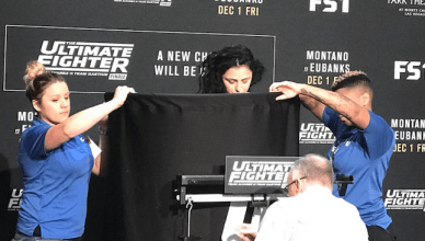 UFC Results: TUF 26 Finale Weigh In from Las Vegas.