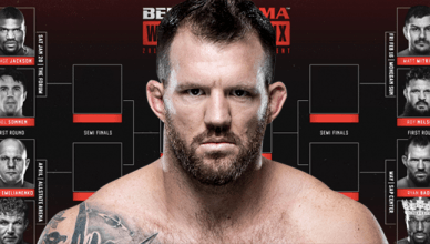 Ryan Bader is participating in the Bellator heavyweight tournament.