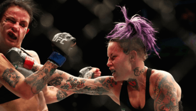 Jessica-Rose Clark missed weight against Bec Rawlings in Sydney.