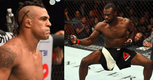 Vitor Belfort and Uriah Hall