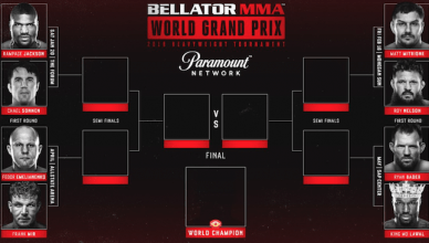Bellator MMA Heavyweight Grand Prix tournament.