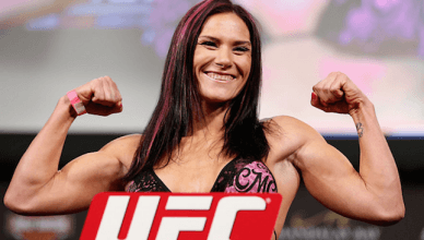 UFC star, Cat Zingano.