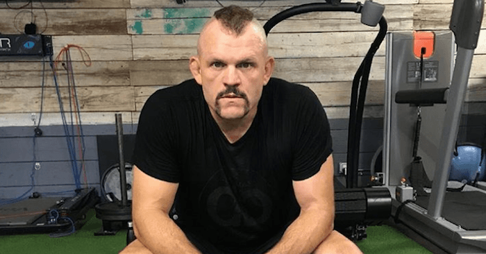 Former UFC light heavyweight champion, Chuck Liddell.
