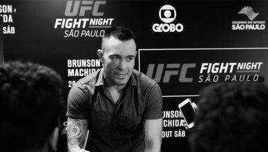 UFC welterweight Colby Covington.