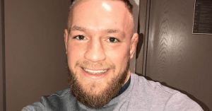 UFC Lightweight Champion, Conor McGregor.