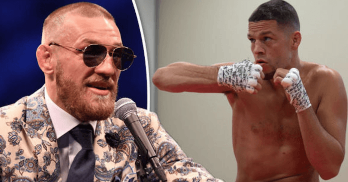 Conor McGregor and Nate Diaz are big time rivals now.