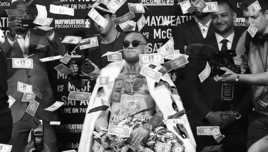 UFC champ, Conor McGregor.