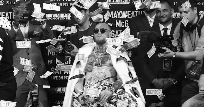 UFC champ, Conor McGregor.