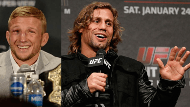 T.J. Dillashaw and Urijah Faber.