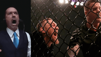 Mike Goldberg on hand for Conor McGregor's chaos inside the Bellator cage.