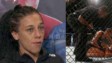 Former UFC strawweight champion Joanna Jedrzejczyk says don't compare her to former bantamweight champ Ronda Rousey after her UFC 217 loss to Rose Namajunas.