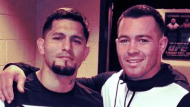 Jorge Masvidal and his BFF Colby Covington.