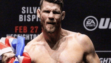 Former UFC middleweight champion, Michael Bisping.