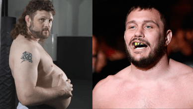 Roy Nelson and Matt Mitrione in Bellator.