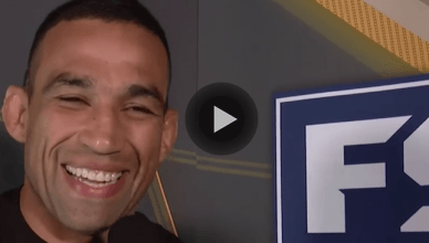 Former UFC heavyweight champion, Fabricio Werdum.