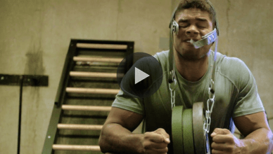 Alistair Overeem is following what Diego Sanchez does to get his neck strong.