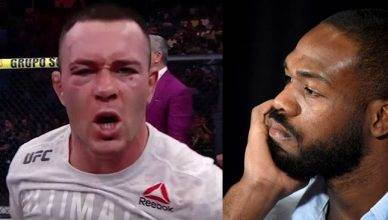 Colby Covington and Jon Jones.