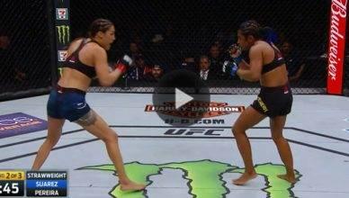 UFC Results: Tatiana Suarez def. Viviane Pereira unanimous decision (30-27, 30-27, 30-26)