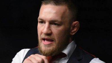 UFC lightweight champion, Conor McGregor.