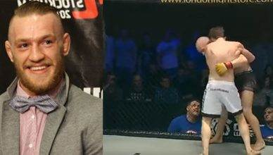 UFC's Conor McGregor invaded Bellator MMA in Dublin.
