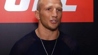 UFC's T.J. Dillashaw.