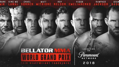 Bellator MMA released the poster for the upcoming Heavyweight Grand Prix Tournament.