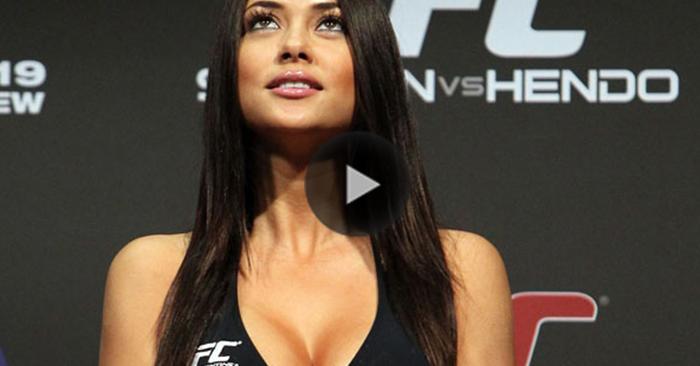 Video : სექსუალური არიანა სელესტე UFC - ს მებრძოლის დაკუნთულმა სხეულმა შოკში ჩააგდო