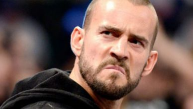 Former WWE champion, CM Punk.