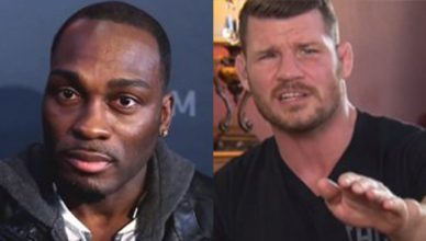 Derek Brunson and Michael Bisping.