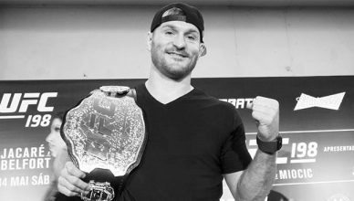 UFC heavyweight champion Stipe Miocic.