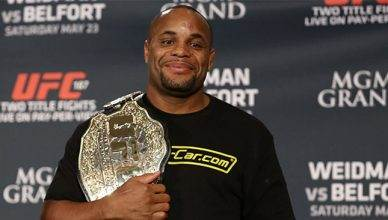 UFC light heavyweight champion, Daniel Cormier.