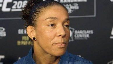 Former UFC featherweight champion, Germaine de Randamie