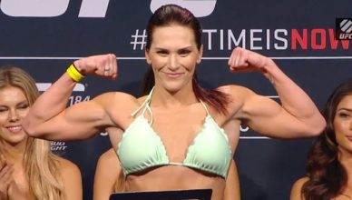 UFC bantamweight contender, Cat Zingano.