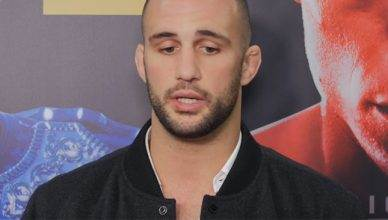 Top ranked UFC light heavyweight, Volkan Oezdemir.